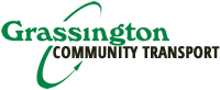 Grassington Community Transport Logo